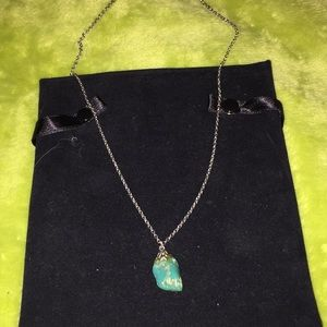 Necklace! Turquoise! Very pretty!
